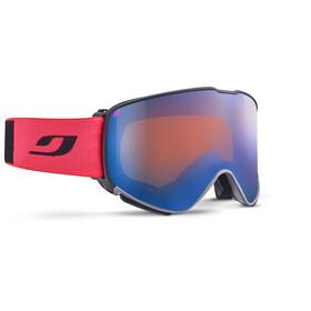 Julbo Quickshift MTB Double Lens 0+2 Goggles, black/red